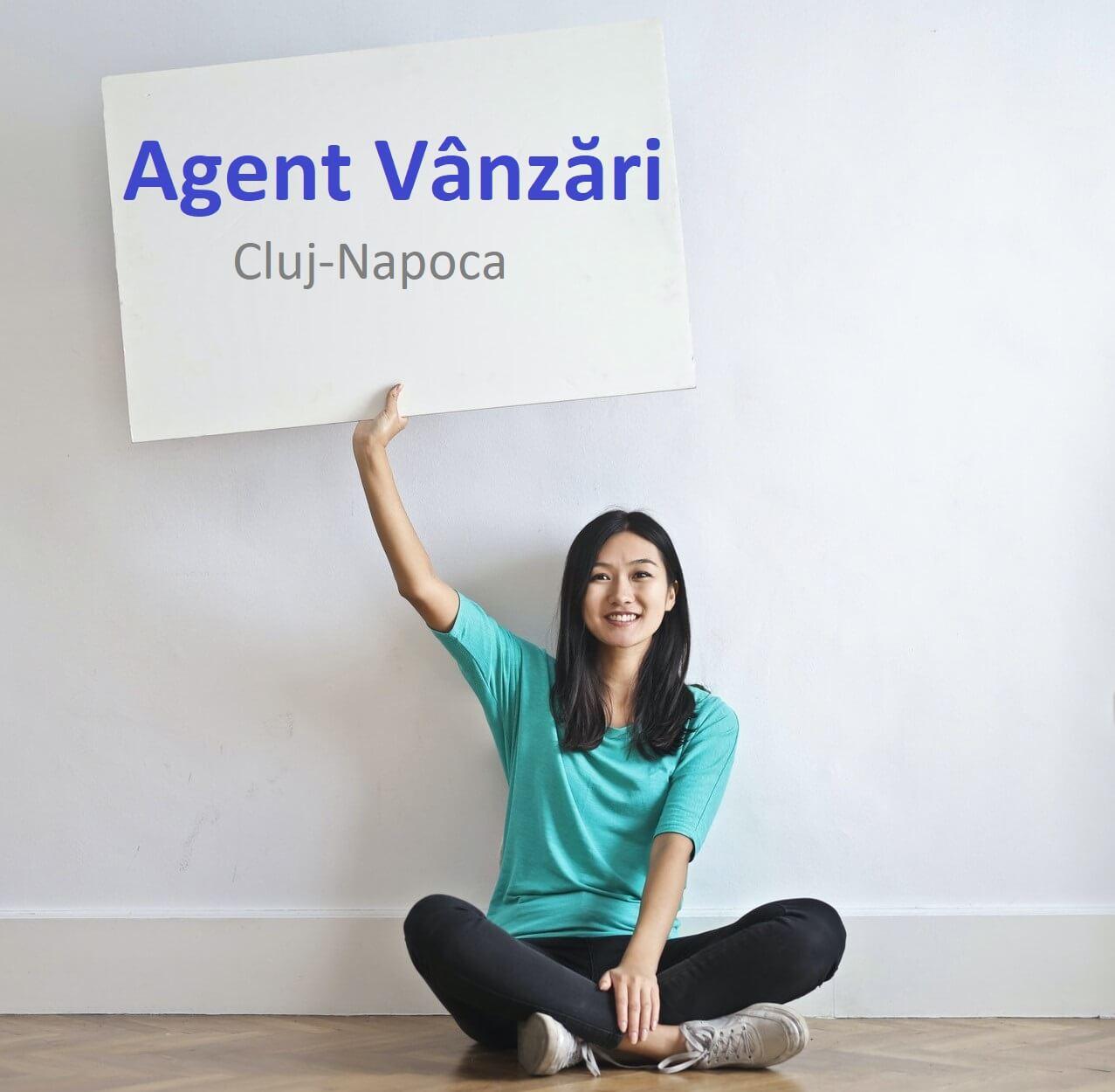 Agent vânzari Cluj-Napoca